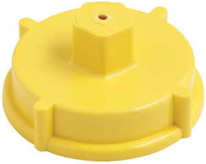 Dixon Powhatan 4 1/2 in. NH(NST) Plastic Hydrant Cap w/ Chain
