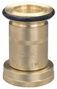 Dixon Powhatan 1 1/2 in. NH(NST) Brass Industrial Fog Nozzle