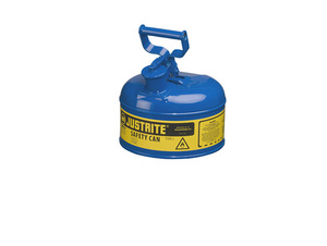 Justrite Type I 1 Gal Safety Gas Can (Blue)