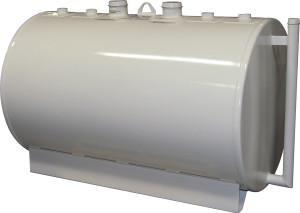 Certified Tank 2,500 Gallon 7 / 10 Gauge Double Wall UL142 Skid Tank
