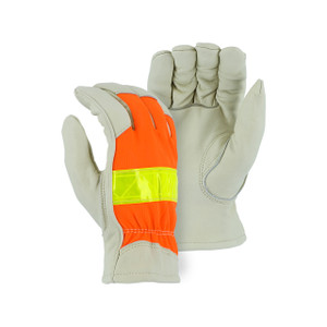 Majestic High Visibility Medium Thinsulate Driver Gloves
