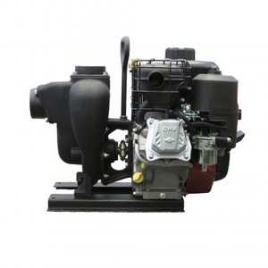 222 Series C/I Pumps With Honda Engines - 2 in. CI Pump 5.5 HP Electric Start GX160 Honda - 2 in.x2 in.
