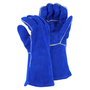 Majestic Leather Performance Large Kevlar Sewn Welders Glove