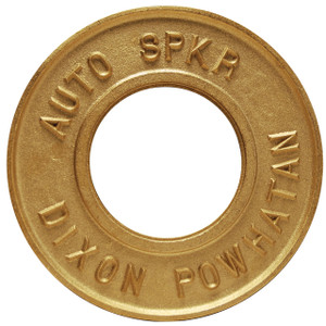 Dixon Powhatan 2 1/2 in. x 3 1/4 in. Round Identification Auto-Sprinkler Plate