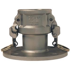 Dixon 3 in. Stainless Steel EZ Boss-Lock Coupler x 150# Flange Fitting