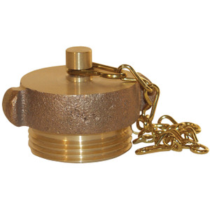 4 1/2 in. NH(NST) Dixon Powhatan Brass Plug & Chain - Pin Lug