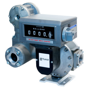 Tuthill 3 in. NPT  TS Oval Gear Meter w/ Mechanical Register (Whole Gal), Strainer, and Air Eliminator