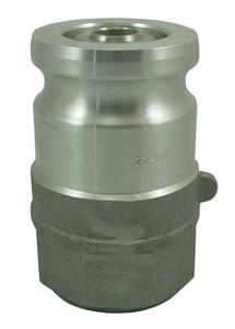 OPW 1 1/2 in. Aluminum Kamvalok Adapter w/ Chemraz Seals
