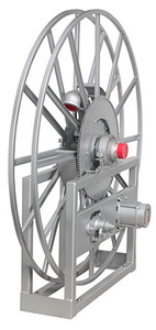 Hannay V-5000 Series Aviation 12 VDC Power Rewind Reels  - 1 1/2 in. x 100 ft. - Hose Not Included