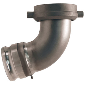 Dixon Tank Car Elbows Part A – Stainless Steel 3 in. Male Adapter x 5 in. Swivel Nut