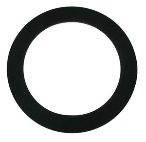 Dixon 5 in. PTFE Railroad Tank Car Gasket w/ FKM Filler - 3/16 in. Thick