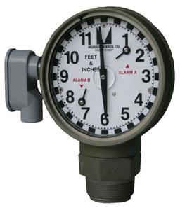 Morrison 2 in. Male NPT  918DP Dual Point Clock Gauge w/ Drop Tube Float