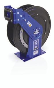 Graco XD 30 3/4 in. Metallic Blue DEF Heavy Duty Spring Driven Hose Reels - Reel Only