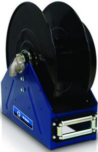 "Graco XD 50 Heavy Duty Spring Driven Fuel Hose Reels - Bare Reel - Blue - 1"" x 100'"