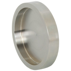 Bradford 16AI-15I Series 316L Stainless Female I-Line Solid End Caps