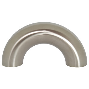 Bradford B2WUL Series 316L Stainless Polished Weld 180° Return Bends