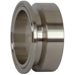 Dixon/Bradford B19MPX Series 316L Stainless Clamp x Schedule 10S Weld Adapters