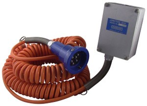 Blue Optic Hardwire Junction Box System w/ 2-Pin Plug & Coiled Cord