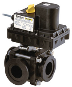 3 Way Regulating Electric Valves - 4 Second Response Time