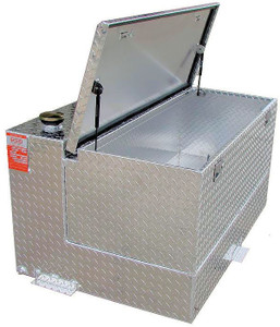 95 Gallon DOT Aluminum Combo Refueling Transfer Tank