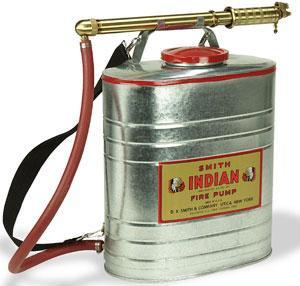 Indian Fire Pump 5 Gallon Galvanized Fire Pump