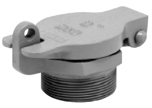 Clay & Bailey 233 Series 2 in. & 3 in. Male NPT Cast Iron Fill Caps