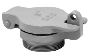 Clay & Bailey 235 Series 2 in. & 2 1/2 in. Male NPT Cast Iron Fill Caps