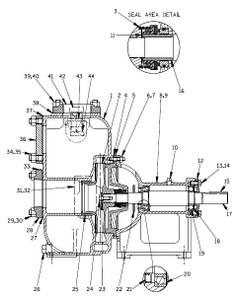 03E1-B Pump S/N 450930 & UP