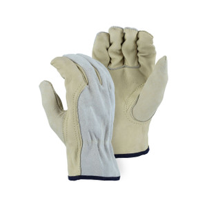 Majestic Combination Leather Driver Gloves