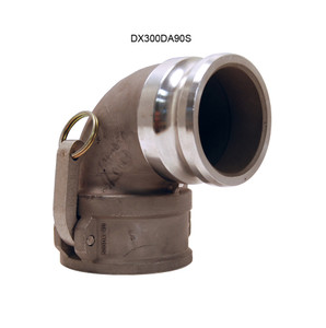 Dixon Stainless Male Adapter x Female Coupler 90° Elbows