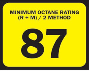 Octane Decal Labels