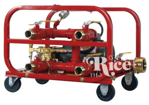 Rice Hydro Inc. Hydrostatic Fire Hose Tester