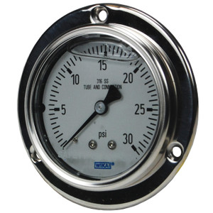 Dixon 2 1/2 in. Lower Back Mount Stainless Panel Builder Gauges