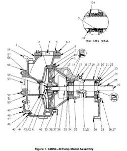 04B52-B Pump S/N 1346496 & UP
