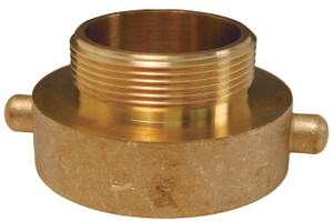 Dixon 1 1/2 in. FNH(NST) x Male Brass Pin Lug Hydrant Adapters