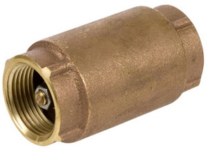 Smith Cooper Brass 200 WOG In-Line Check Valve - Threaded