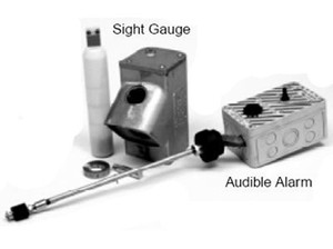 Clay & Bailey AST Sight Gauge With Audible Alarm