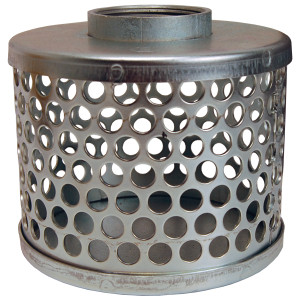 Dixon Zinc Plated Steel Standard Round Hole Strainers