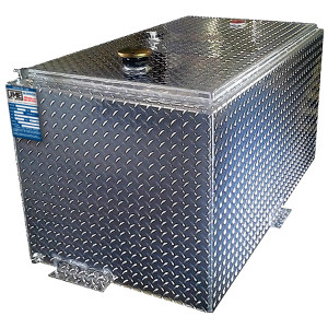 110 Gallon Aluminum Double Wall Refueling Transfer Tank