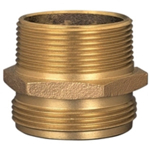 Dixon Brass 3 in. Male to Male Hex Nipples