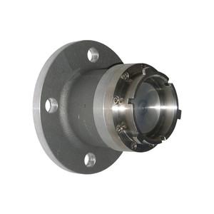 Dixon Aluminum Aviation Adapter x 150# ASA Flange Dry Disconnect