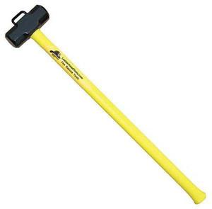 "Leatherhead Tools 10 lb. Sledge w/ 36"" Handle & Marry Bracket - Yellow"