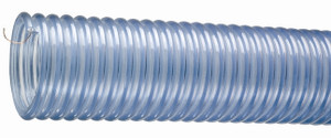 Kuriyama Tigerflex 2001 Series  2 1/2 in. x 60 ft. Polyurethane-Lined PVC Food Hose