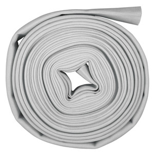 Superior Fire Hose 3 in. Single Jacket Mill Hose Uncoupled