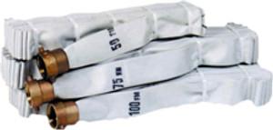 Key Fire Hose 1 1/2 in. Rack & Reel Hose w/ NH (NST) Brass Pin Lug Couplings