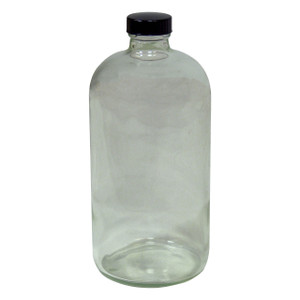 HAZMATPAC 16 oz. Boston Round Glass Bottles