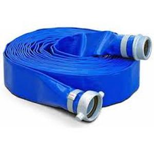 Vinylflow Premium PVC Water Discharge Hose w/ Pin Lug Couplings