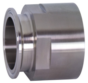 Bradford 22MP Series 316L Stainless 1 1/2 in. Clamp x Female NPT Adapters