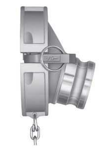 PT API Coupler x 4 in. Male Drop Adapter64.96