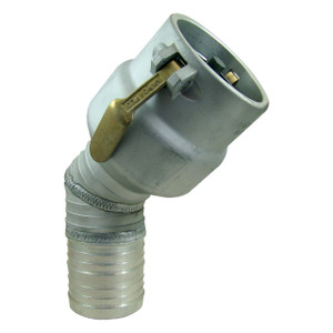 VF 4 in. CPP with Probe & Check Valve x 45° 4 in. Hose Shank